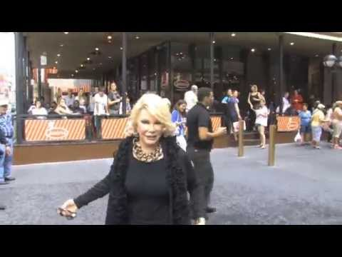 Joan Rivers Leaves 'I'll Eat You Last' Closing Night In NYC