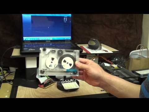Universal QIC Data Tape Reader Demo v2