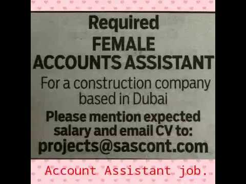 Accounts Jobs in Dubai