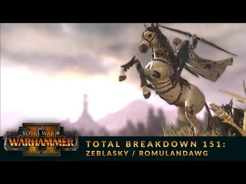Total Breakdown 151 (WH2) - Wood Elves vs Skaven - Warhammer 2 Online Battle