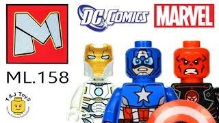 LEGO Super Heroes ML Bootleg ML158 Review
