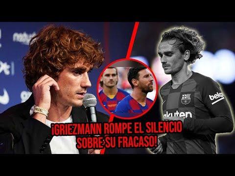 Griezmann ROMPE EL SILENCIO sobre su fracaso en Barcelona