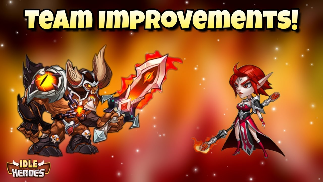 Idle Heroes (O+) - Big Team Improvements and Vengeance Against Margaret!