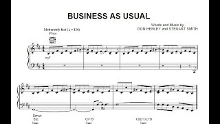 """Eagles - Business as usual """"solo part"""""""