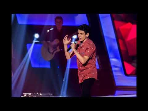 """Guilherme Porto  """"Romântico Anônimo""""  The Voice Kids"""
