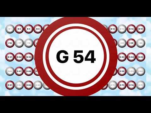 75 Ball Bingo Caller - Game 1