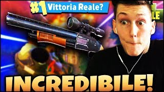 "FORTNITE ITA : THIS FUCILE IS FORT! ""-- MASSACRE WITH GRANDFATHER'S PUMP! ROYAL VICTORY?"