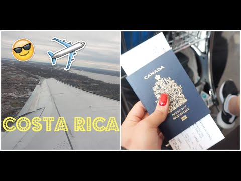FOLLOW ME AROUND COSTA RICA !  PART 1 | 2016