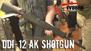 Repeat youtube video SHOT Show 2016: New DDI-12 AK Based 12ga Shotgun