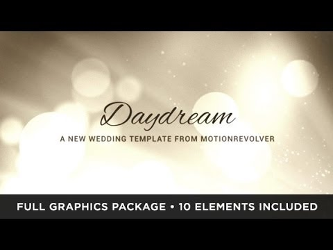 Daydream Wedding (After Effects Template)