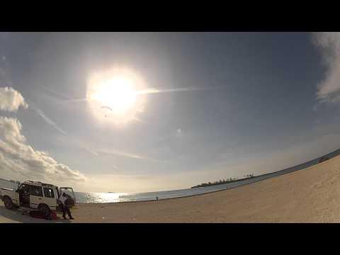 Paramotor Bahamas touch & go's training solo