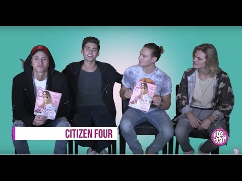 POPSTAR! EXCLUSIVE: Get to Know Citizen Four!