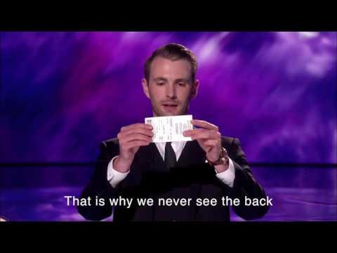 Richard Jones Britains Got Talent semifinal magic trick REVEALED