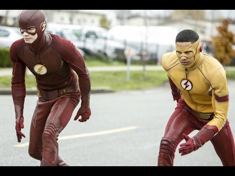 The Flash Vs Kid Flash The flash Wins