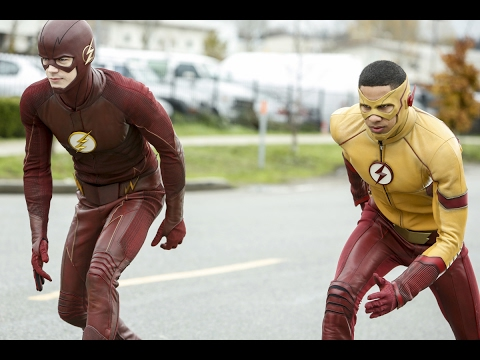 The Flash Vs Kid Flash The flash Wins