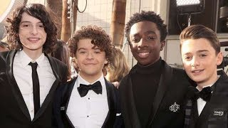 Stranger Things Cast UNITES Amid Finn Wolfhard Departure Rumors | 2018 Golden Globes