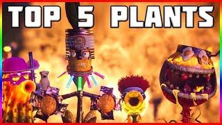 MY TOP 5 PLANTS! Plants vs Zombies Garden Warfare 2 Video