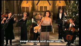 """15.Bach:""""Schlummert ein, ihr matten Augen""""BWV 82; Angelika Kirchschlager;Freiburger Barockorchester"""