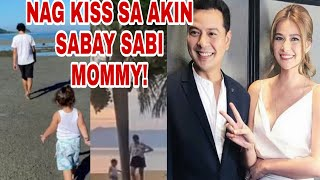 BEA ALONZO AT JOHN LLOYD CRUZ & LITTLE ELLIAS ANAK NI JOHN LLOYD MAGKAKA SAMANG NAG BAKASYON