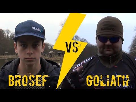Ultra Light Angeln gegen den deutschen Meister | Brosef VS Goliath Vol. 4 | hechtundbarsch.de