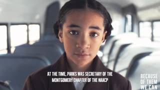 Celebrating Black History Month: Because of Rosa Parks....We Can!