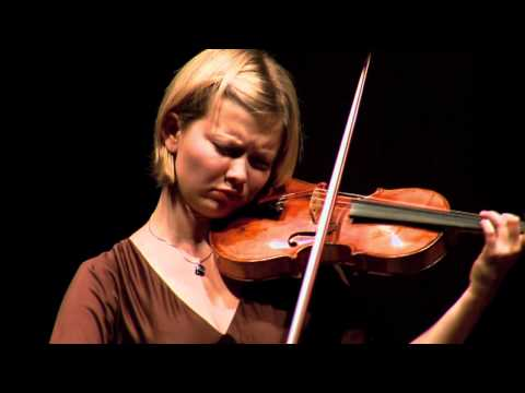Alina Ibragimova  J.S. Bach:Sarabande  Violin Partita No.2 in D minor BWV 1004