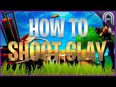 How To Shoot Clay Pigeons In Fortnite!
