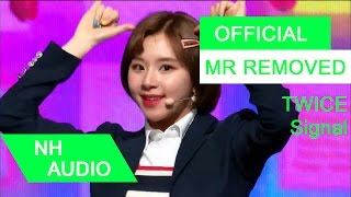 Download Lagu [MR Removed] TWICE - Signal Mp3