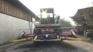 TraktorTV Folge 56 - Vorbereitungen bei einem Claas Jaguar 840 auf einen harten Arbeitstag