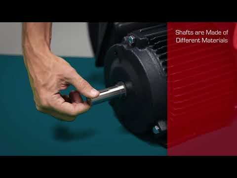 Toshiba Motor Parts Video Tutorial - Part 6 - Shaft & Key