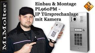 PL960PM - IP Türsprechanlage Einbau & Montage von M1Molter