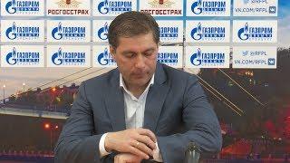 ФК Оренбург 2:0 ФК Ростов. Пресс-конференция. Роберт Евдокимов
