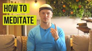 Tim Ferriss on how to start meditating | Tim Ferriss