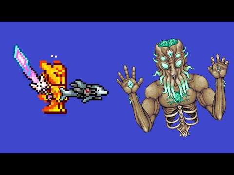 Terraria Mobile 1.3 Moon Lord Fight