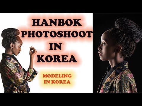 [BLACK MODEL IN KOREA] ▫ 한복...