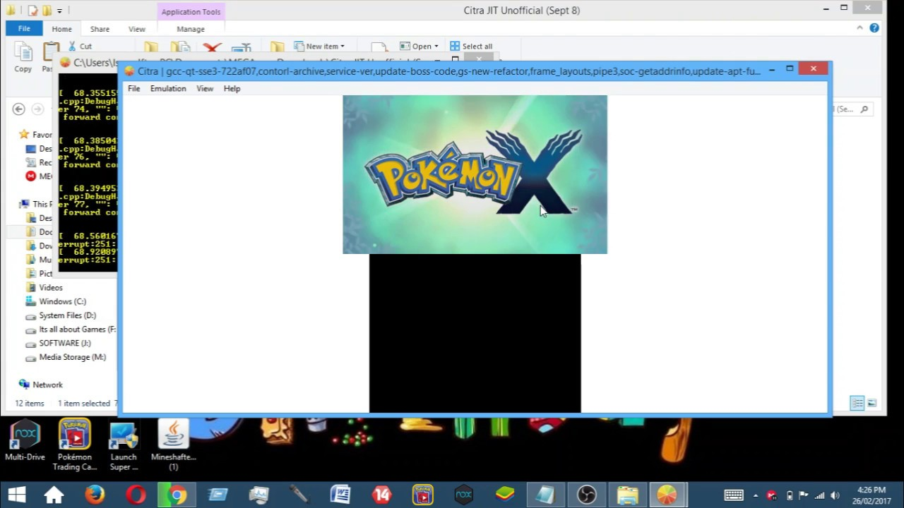 how to get pokemon y on pc