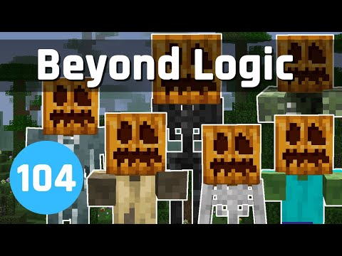 Beyond Logic #104: Halloween Hunting | Minecraft 1.14