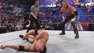 Rob Van Dam vs. The Rock: SmackDown, October 25, 2001