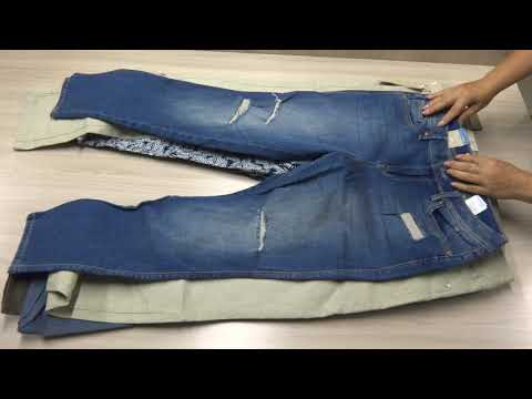 Женские брюки и джинсы фирмы Tom Tailor сток оптом.