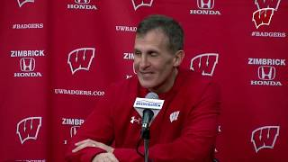 Granato Weekly Presser: Badgers Face U.S. Under-18 Team and 3 Future Badgers  - Buy American