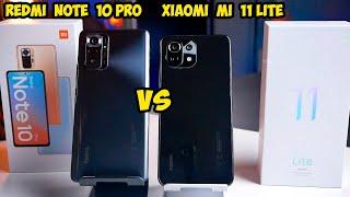 Xiaomi Mi 11 Lite VS Redmi Note 10 Pro