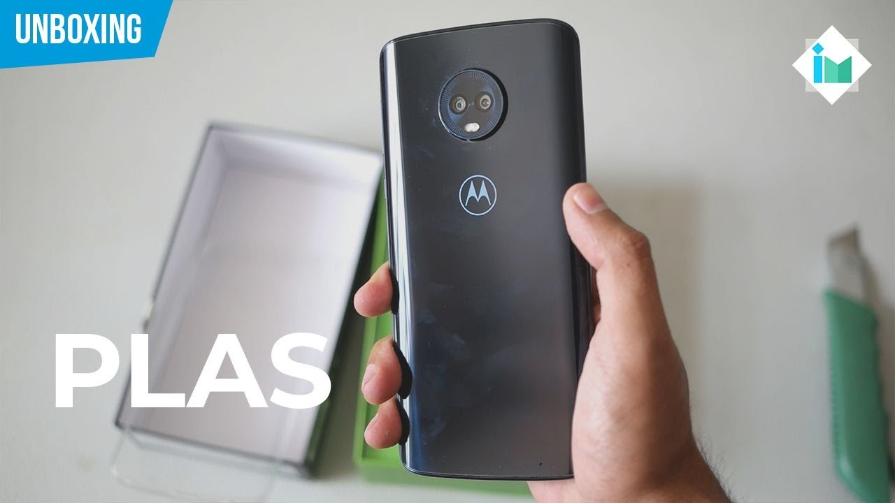 Motorola Moto G6 Plus | Unboxing en español