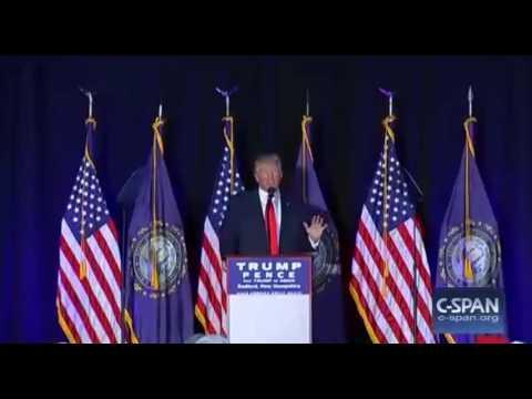Donald Trump Bedford NH FULL Speech 9/29/16