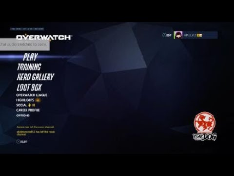 Overwatch: Boosted Mercy turns mic on to get toxic