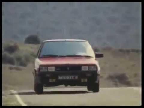 Publicité Renault 11 Turbo 1984