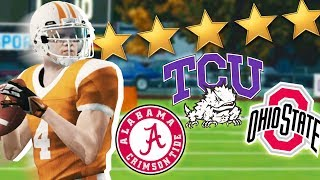 Best High School QB in the NATION // NCAA 14 Road to Glory #1