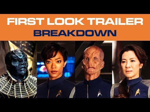 Thumbnail: Star Trek: DISCOVERY Trailer - The ULTIMATE Breakdown Analysis & My Reaction