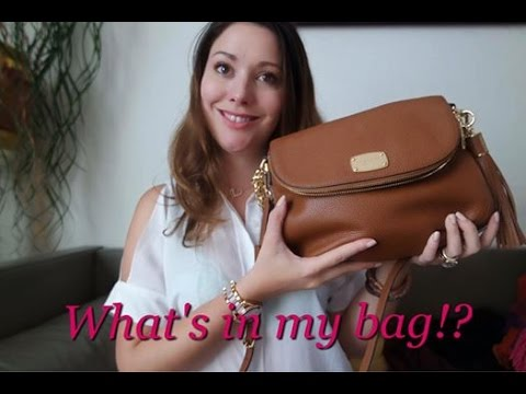 (VIDEO) What's in my Bag!! ♡