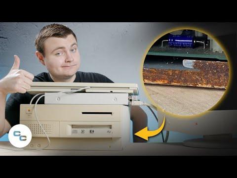 My Dirtiest Macintosh - Macintosh IIvx (But Does It Work?) - Krazy Ken's Tech Misadventures
