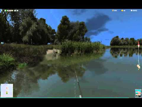 Добыча живца, лягушки и прочих в игре Трофейная Рыбалка 2
